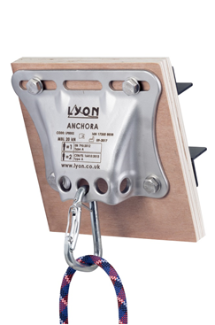 ANCHORA Bolt-on Anchor Device by Lyon Equipment