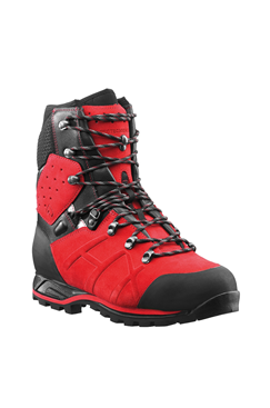 Haix Protector Ultra Signal Red Chainsaw Boots