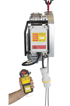 Radio Controlled Electric Wire Hoist - Tractel Minifor Alternative FIX-LM500