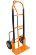Easy Push/ Pull Heavy Duty 250kg Steel Sack Truck Trolley with Solid Puncture Proof Wheels ST-JM800-S