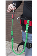Tree Climbing 1.5KG Bungee Tool Lanyard & Connecting Buckle