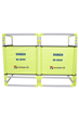 Safety Barrier with 4 panels