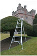 3 leg Adjustable Telescopic Tripod Ladder 2.4m HPM240