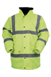 Hi-Viz Yellow Contractor Coat - Available M, L, XL