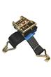 3000kg MBS Ratchet Lashings c/w Claw Hooks
