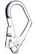Twin Double Energy Absorbing Elasticated Lanyard c/w Scaffold Hooks