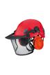 Edelrid Ultra Lite II Arborist Climbing Helmet Visor and Ear Protection