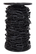 10mm BLACK Plastic Link Chain x 20mtr Reel