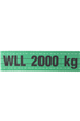 Webbing Lifting Polyester Strop/ Strap/ Sling 2T (1mtr to 10mtr) WEB2XLG