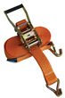 Premium 5 Tonne Ratchet Lashing Strap (Claw Hook)